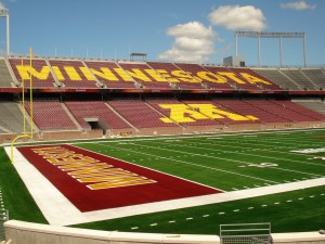 TCF Bank Stadium Minnesota Gophers