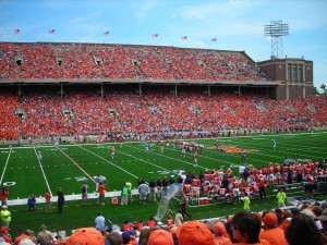 Illinois Football Stadium Wallpaper