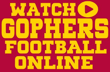 Watch Minnesota Football Games Online