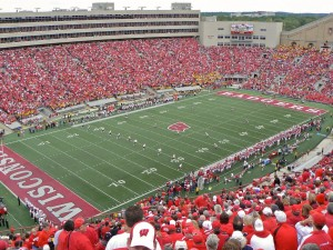 Wisconsin Football Stadium Wallpaper