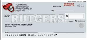 Rutgers Personal Checks