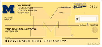 University of Michigan Personal Checks